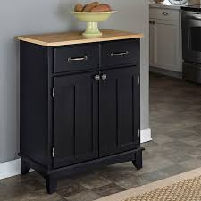 wood top kitchen island home styles small wood server kitchen island hayneedle