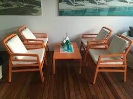 nardi aria 5 piece dining setting in vibrant orange nardi