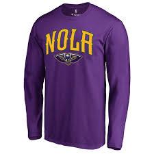 mardi gras t shirt men s new orleans pelicans fanatics branded purple mardi gras
