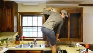 how to darken white cabinets using polyshades to darken our wood cabinets house