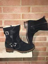 s ugg australia black grandle boots ugg australia s motorcycle boots ebay