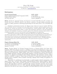 Infantry Resume Examples by Fore Paul Federal Resume 4nov2015