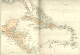Map Of West Indies Central America And West Indies Map Honduras U2022 Mappery