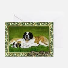 bernard greeting cards cafepress