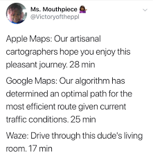 Walking Dead Google Map The Difference Between Google Maps And Waze Google