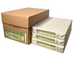 buy recycled copy paper 100 post consumer pcw envirographic 100