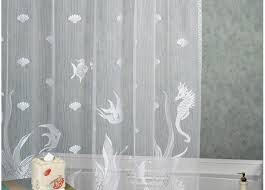 Ruffle Shower Curtain Uk - shower tremendous fabric shower curtains with matching window