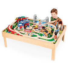 Play Table With Storage by The Wooden Train Table For Your Lovely Kids Wigandia Bedroom