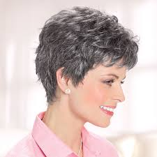 salt and pepper pixie cut human hair wigs cancer wigs chemo wigs blond wigs short wigs wigs for cancer