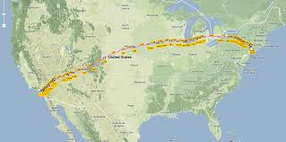 Map Of Usa And Canada by Flight Routes Of Delta Etc In The Usa 946x475 Os Mapporn Google
