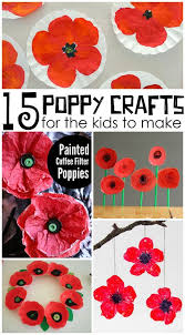 Pinterest Crafts For Kids To Make - beautiful red poppy crafts for kids to make for remembrance