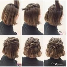 Hochsteckfrisurenen Mit Kurzen Haaren Selber Machen by Die Besten 25 Kurze Haare Hochstecken Ideen Auf