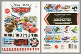 cars characters cars character encyclopedia book review pixar post