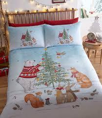 night before christmas duvet cover set single the bedlinen