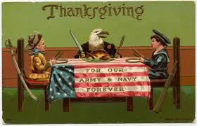 soldiers families worldwide celebrating thanksgiving article