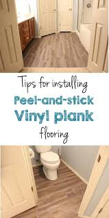 peel and stick vinyl plank flooring diy house and basements
