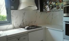 plan de travail de cuisine sur mesure plan de travail cuisine en quartz kirafes
