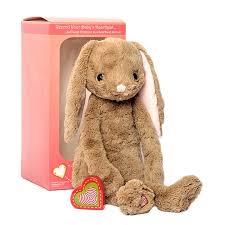 vintage rabbit vintage bunny stuffed animal kit my baby s heartbeat
