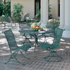 wrought iron chairs patio fabulous backyard exterior decoration introducing magnificent