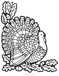 free thanksgiving coloring page sanorama info