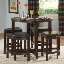 shop homelegance brussel brown cherry dining set with round