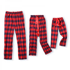 plaid ribbon christmas plaid ribbon pajama for family