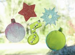 easy kids craft how to make your own holiday clings