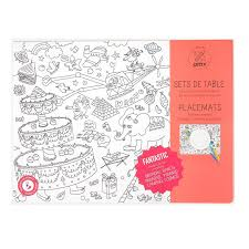 coloring placemats omy coloring kids dinner placemats fantastic zillymonkey
