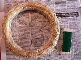 how to make a wreath free craft wreath