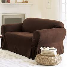 Living Room Chair Cover Sure Fit Soft Suede Sofa Cover Walmart