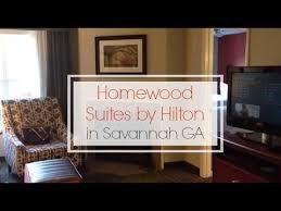 hotels with 2 bedroom suites in savannah ga homewood suites by hilton savannah georgia youtube
