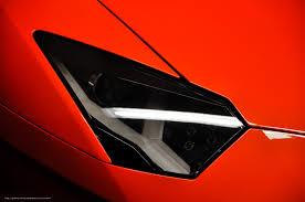 Lamborghini Aventador Headlights - download wallpaper highlight lamborghini aventador red free