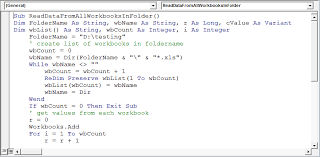 Excel Vba On Error Resume Next Read Information From A Closed Workbook Using Vba In Microsoft
