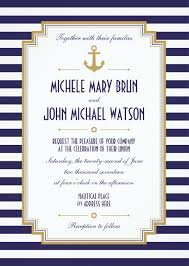 nautical themed wedding invitations nautical wedding invitations 12 beautiful anchor themed designs