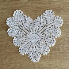 heart shaped doilies pineapple heart shaped doilies white 8 inch set of 12 accent linens