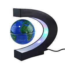 Gifts For Office Desk Aliexpress Com Buy Magnetic Floating Globe World Map C Shape Led