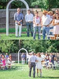 sarah u0026 aaron southern backyard elopement photography in dunn