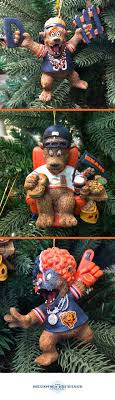 grreatest fans ornament collection chicago bears and ornament