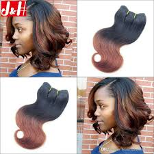 pictures of black ombre body wave curls bob hairstyles 6pcs lot 300g full head 8a brazilian ombre hair extensions body wave