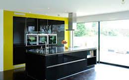 Urban Myth Kitchen - black kitchen ideas