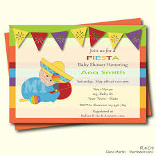 mexican baby shower invitation mexican baby shower