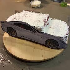 velvet ferrari delicious arts bakery ferrari california cake tutorial