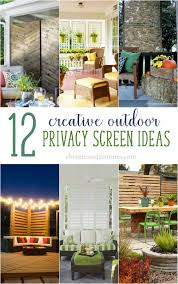 Outdoor Privacy Screens For Backyards Outdoor Privacy Screen Ideas Christinas Adventures