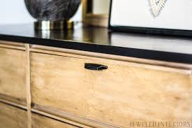 Modern Furniture Diy by Diy Tutorial Two Toned Rustic Mid Century Modern Dresser Make
