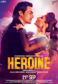 a brand new poster for the hottest new movie of the year heroine