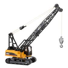 best hui na toys remote control construction crane engineering