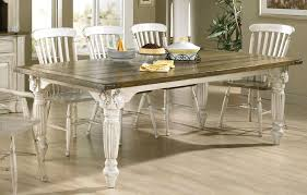 Diy White Dining Room Table Staggering Provincial Dining Table White Furniture Pealing