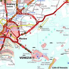 Ord Map Michelin Map Italy Veneto 355 1 200k Maps Country Michelin