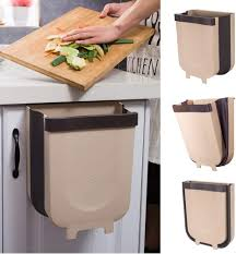 kitchen cabinet doors and drawers yibaision hanging trash can for kitchen cabinet door collapsible trash bin small compact garbage can attached to cabinet door kitchen drawer bedroom
