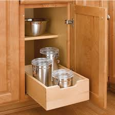 Kitchen Pull Out Cabinet by Kitchen Base Cabinet Wood Pull Out Drawers W 3 4 U0027 U0027 Extension Euro